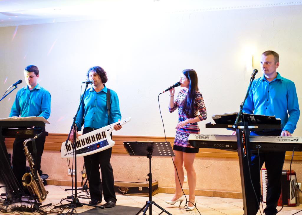 Koncert na sali weselnej w Opolu